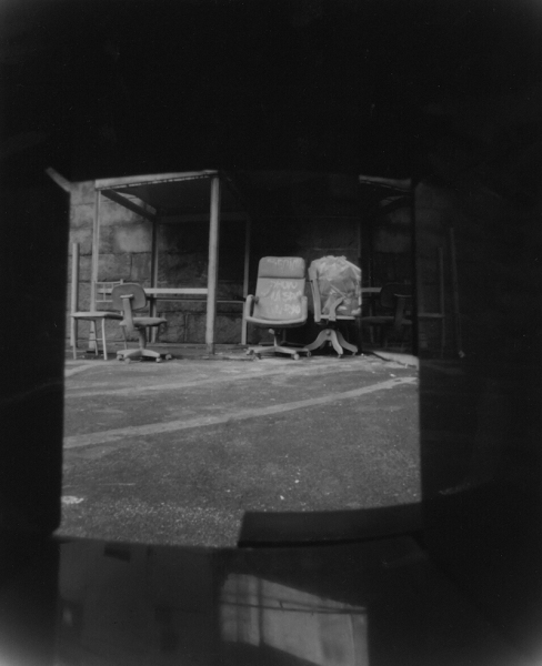 From Lego Pinhole, 4x5 negatives